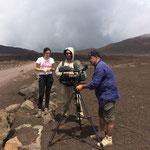 tournage sur la plaine des sables