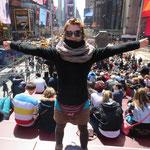 Times Square - ich bin endlich da!