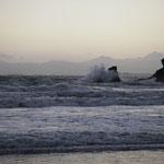 Whites Bay - endlich am Ziel