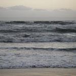Kurzes Durchschnaufen am Meer