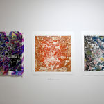 「Variations after 3.11.2011 」 インタリオ、パステル、グワッシュ、和紙。