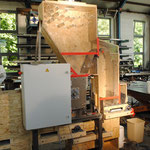 Entspelzungsmaschine, Metall-Atelier Deggenhausen