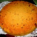 Galette  de farine de riz aux graines de tournesol.