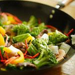 Sauté de légumes de saison.