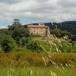 Château de Cazilhac au Bousquet d'Orb.