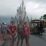 Fam, Kellermann in Orlando Disney World 2. Platz
