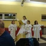 Pyrbaumer Christkind mit Engel