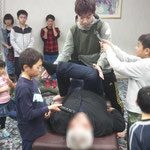 H30納会太地先生のストレッチ実演