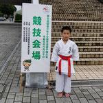 年度関少大会出場(花塚選手)