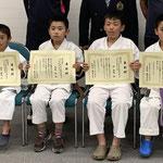 スポーツ少年団表彰式