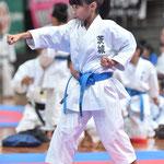 森島碧妃選手2015年8月糸東会全国大会