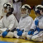 初めての団体戦(H30紫峰杯団体組手低学年Bチーム)