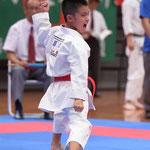 森島琉選手2015年8月糸東会全国大会