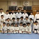 綾人先輩、大和先輩、和夏さん、晴輝君と全員で記念撮影