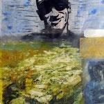 018 Selbstportrait | Mischtechnik 53 x 65 cm