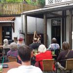 Konzert in den Harfengärten; Foto: Sabine Stutz
