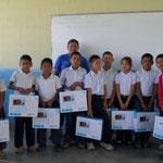 Programa Canaima va a la escuela alumnos 3-4 Grado .Maestra Betty Silva . Municipio Gran sabana. venezuela