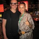 Denis Gagnon (www.denisgagnon.ca) et Mirtha Yepez Founder OrinoquiArt
