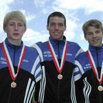 All Blacks-Staffel 3x1000m: Marcel Briggen  |  Christian Mani  |  Michael Leiser