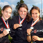 All Blacks-Staffel 3x1000m:  Christina Strycker  |  Livia Burri  |  Astrid Leutert