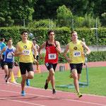 Aurel Hiltmann  800m  |  David Burgener  800m  |  Vinzenz Wolf  80mm