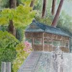 上古沢厳島神社 ホワイトワトソン6号