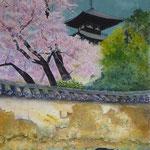 2012  古刹の春(当麻寺)