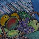 ほたる小品展前期 1板多色刷り版画 4号