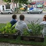 PARK(ing) Day Leipzig 2011 | Karl-Heine-Straße
