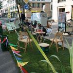 PARK(ing) Day Leipzig 2011 | Karl-Liebknecht-Straße