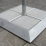 PV Solar Umbrella Stand