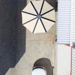 Solarschirm von oben