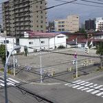 H30.9.11 着工前の建設予定地(現駐車場)