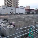H30.11.12 基礎の脱型と地足場の撤去が完了しました。