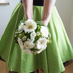 Braut in Petticoat