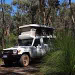 Kleine Pause mitten im National Park