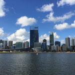 Perth vom Schiff aus