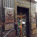 Das Grab von Evita