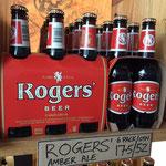 In der Little Creatures Brewery hat Roger sein eigenes Bier!