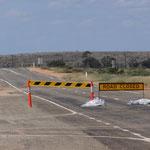 Es geht nicht mehr weiter: Road closed!
