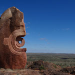 Living Desert Sculptures, ausserhalb Broken Hill