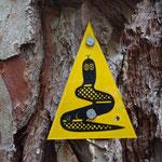 Das Bibbulmun Track-Zeichen