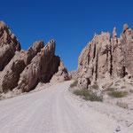 Auf dem Weg durch eine Traumlandschaft von Cafayate nach Cachi