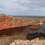 Im Cape Range National Park beim Yardie Creek