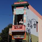 Im farbigen Stadtteil von Boca