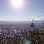 Auf dem Hausberg von Salta, dem Cerro San Bernardo