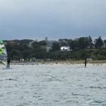 Windsurfer vor Göhren