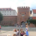 Brama Mostowa, Das Brückentor