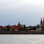 Wloclawek mit schöner Kirche
