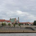 Uferpromenade in Warschau